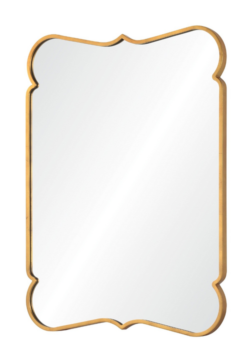 Versailles Gold Leaf Mirror by Barclay Butera for Mirror Image Home