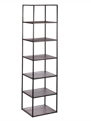 Steel Black Etagere by Bobo Intriguing Objects
