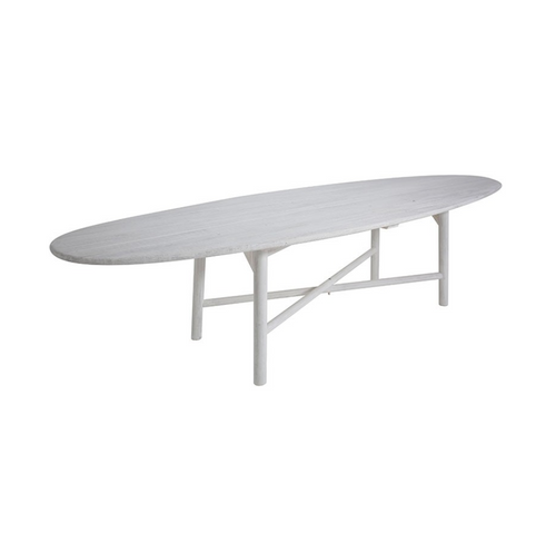 BoBo Intriguing Objects Surf Dining Table in Whitewashed Pine