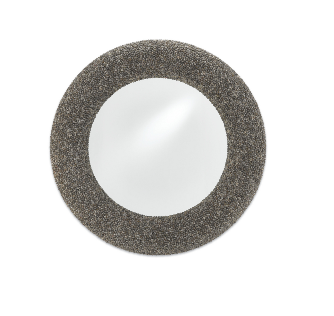 Batad Round Shell Mirror by Currey and Company