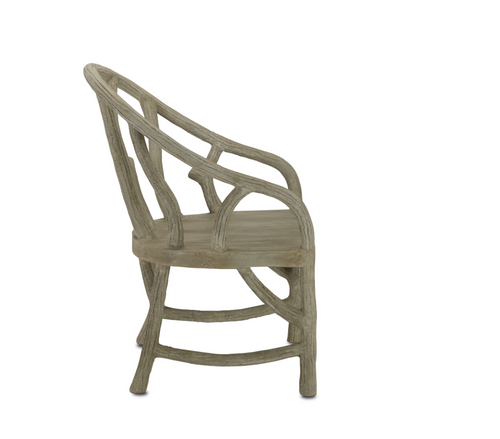 Currey and Company French Arbor Outdoor Chair