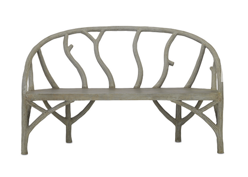 Currey and Company Arbor Bench