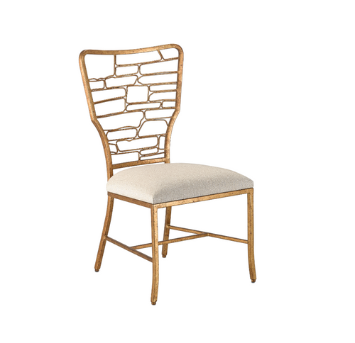 Currey and Company Vinton Sand Chair