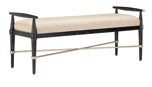 Perrin Natural Bench by Currey and Company