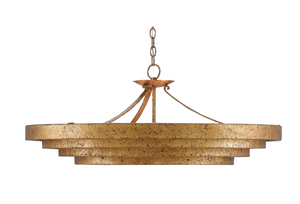 Currey and Company Belle Gold Chandelier