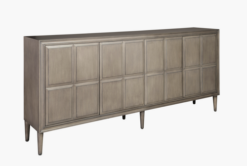 Currey and Company Counterpoint Grey Credenza
