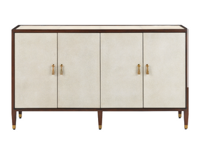 Currey and Company Evie Shagreen Credenza
