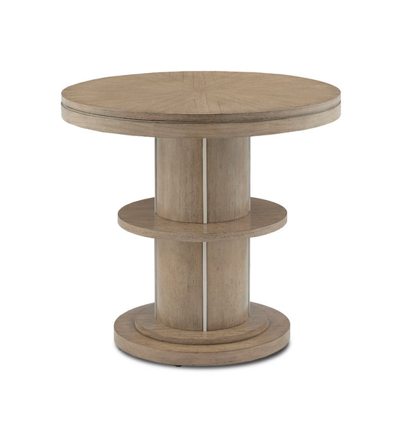 Currey and Company Tuban Wooden Entry Table