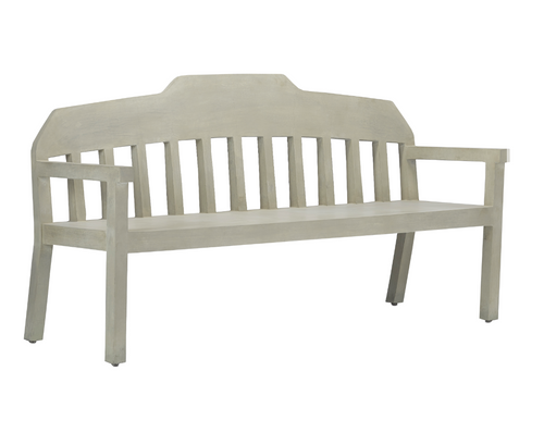 Currey and Company Wates Wooden Bench