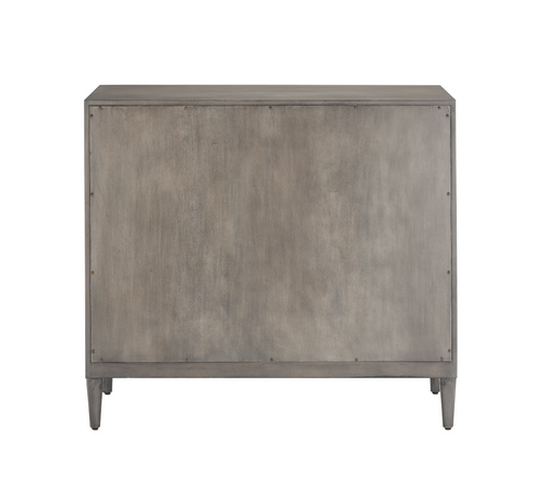 Currey and Company Counterpoint Grey Cabinet
