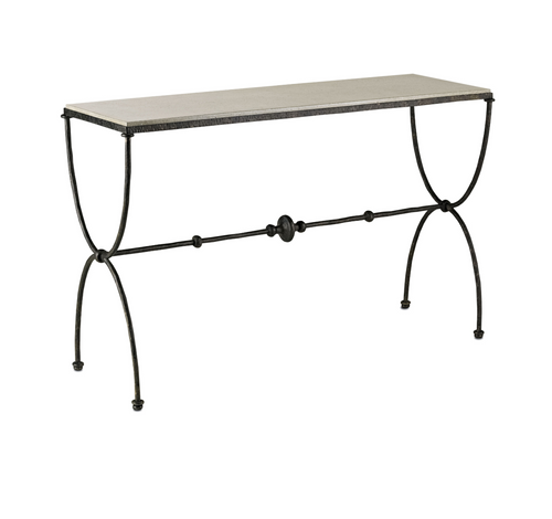 Agora Console Table by Currey and Company