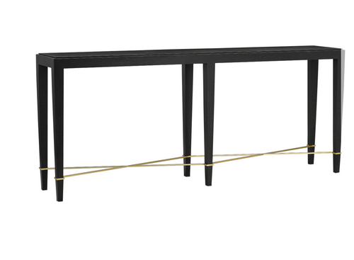 Verona Console Table in Chanterelle by Currey and Company