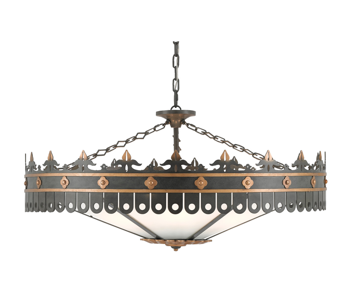 Berkeley Chandelier by Bunny Williams for Currey and Company