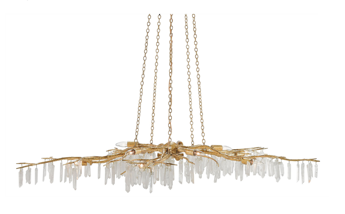 Forest Light Chandelier by Aviva Stanoff for Currey and Company