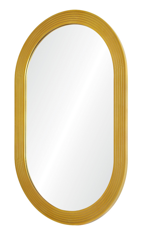 Jamie Drake for Mirror Image Home Hand Carved Gold Mirror