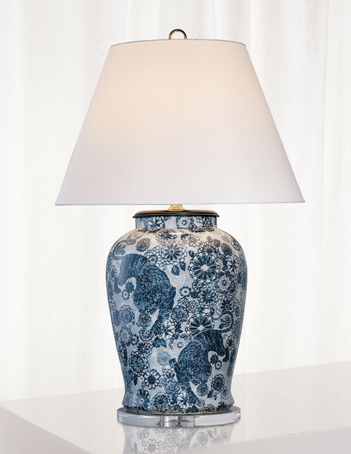Scalamandre' Maison Siberian Tiger Lamp by Port 68