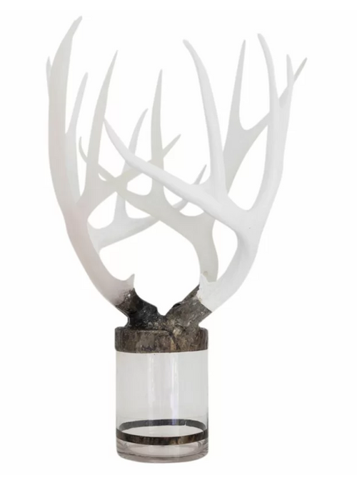 Quadruple Large Antler Decorative Bottle by Jamie Dietrich