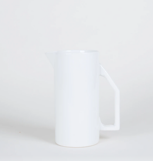 Yield Design Ceramic Water Pitcher, White 850 ML