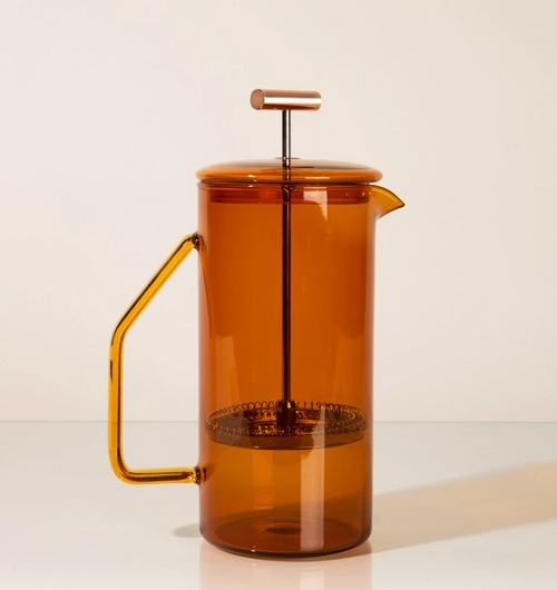 Yield Design Glass French Press, Amber 850 ML