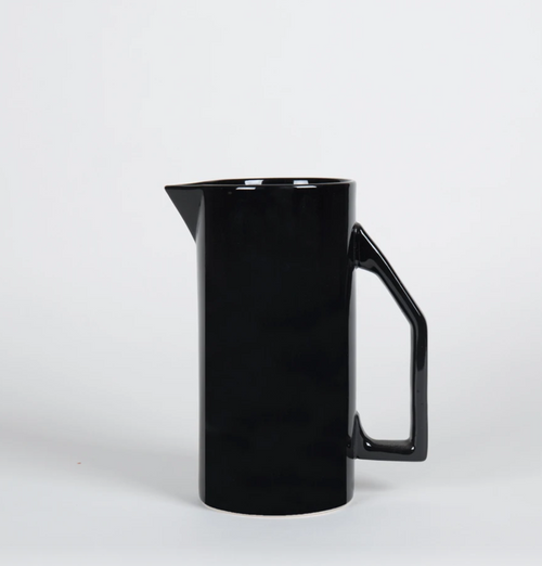 Yield Design Ceramic Water Pitcher, Black 850 ML