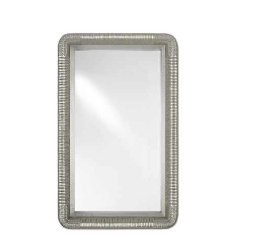 Argos Silver Large Mirror by Currey and Company