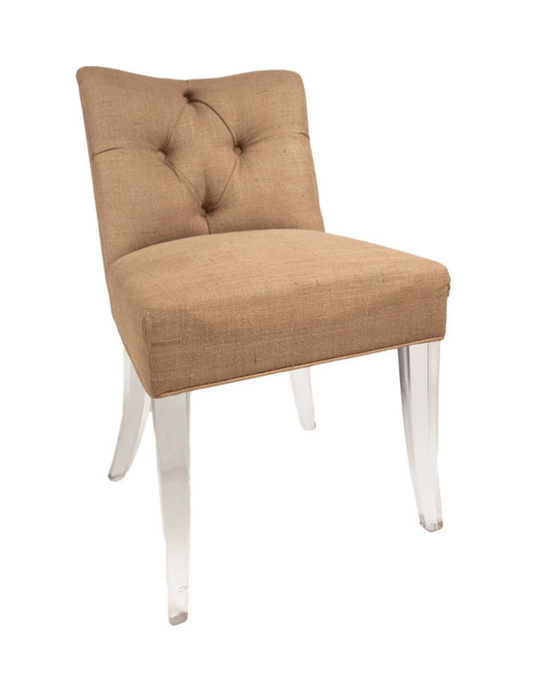 Jamie Dietrich Grace Side Chair in Linen