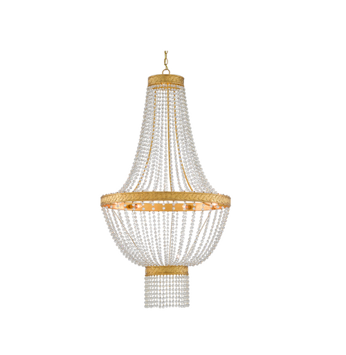 Mirador Chandelier by Currey and Company