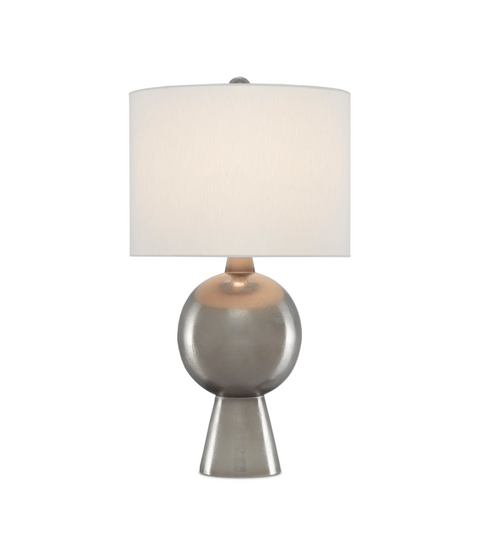 Rami Nickel Table Lamp by Currey and Company