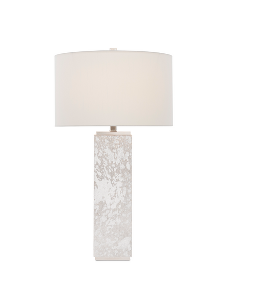 Currey and Company Sundew Nickel Table Lamp