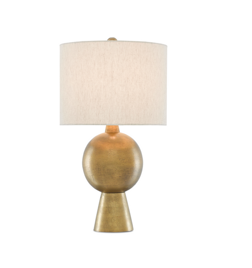 Rami Brass Table Lamp by Currey and Company