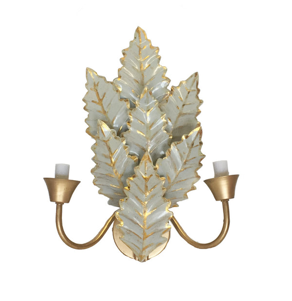 Dana Gibson Margot Wall Sconce in Gray