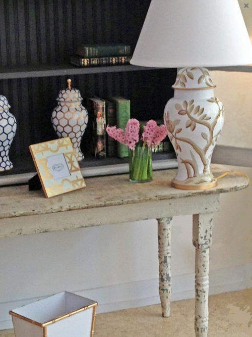 Dana Gibson Cliveden Lamp in Taupe