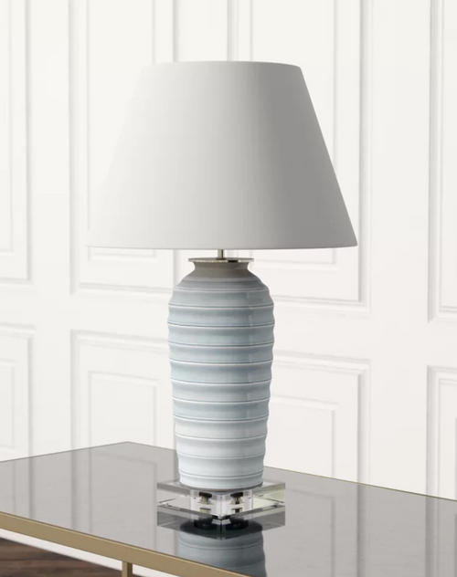 Playa Lamp by Port 68 in Ivory
