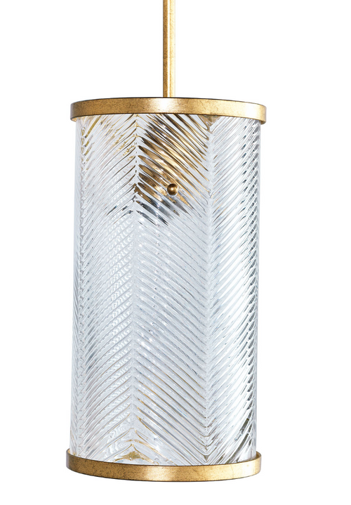Port 68 Westwood Gold Pendant Light