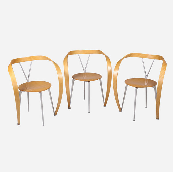 BoBo Intriguing Objects Mid Century Italian Dining Chairs, Set of 6