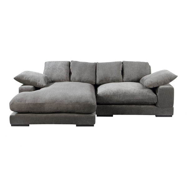 Moes Plunge Sectional Charcoal