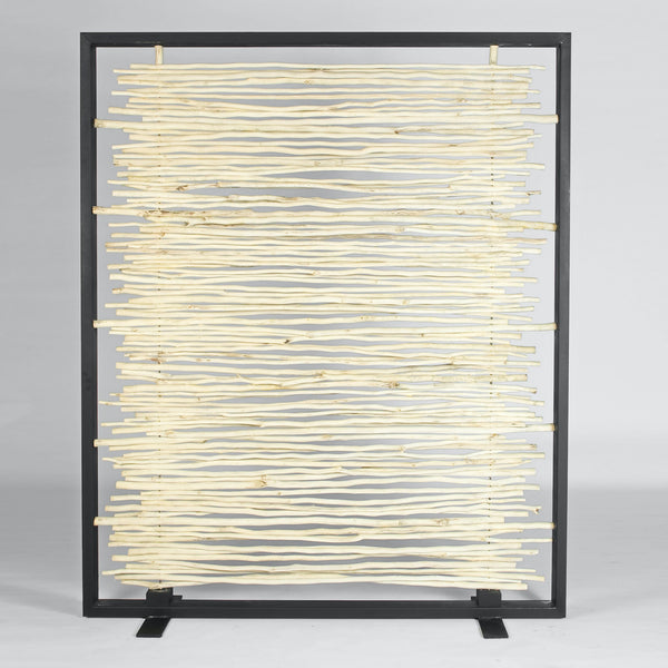 Bleached Driftwood Screen by Urbia