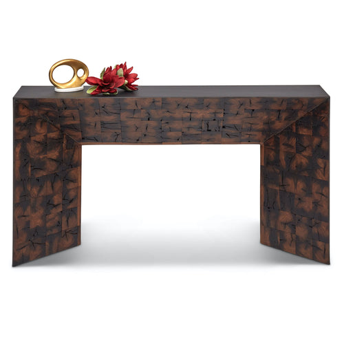 Urbia Old Post Inlay Console, Natural