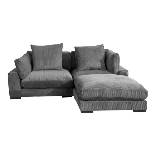 Moes Tumble Nook Modular Sectional Charcoal