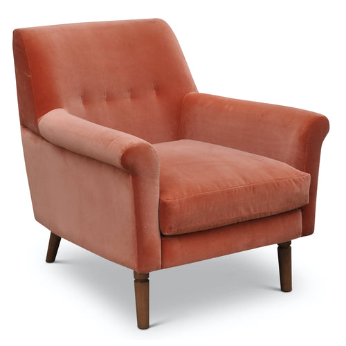 Urbia Emelia Accent Chair iin Orange