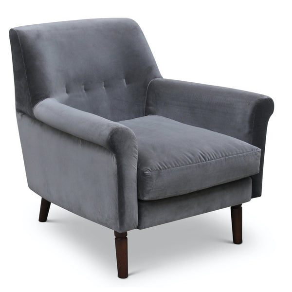 Urbia Emelia Accent Chair, Concrete Grey