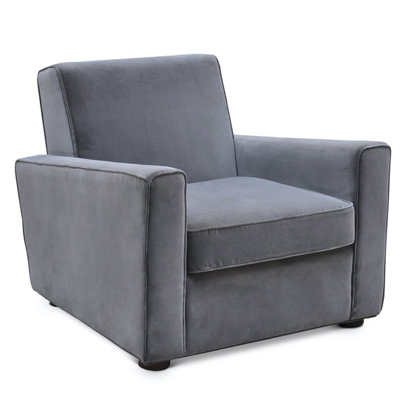 Urbia Malcolm Club Chair, Concrete