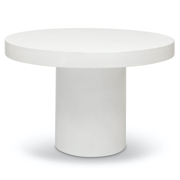 Urbia Circa Dining Table in Ivory/White