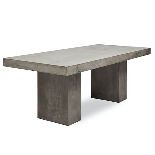 Urbia Elcor 6' Dining Table in Dark Grey