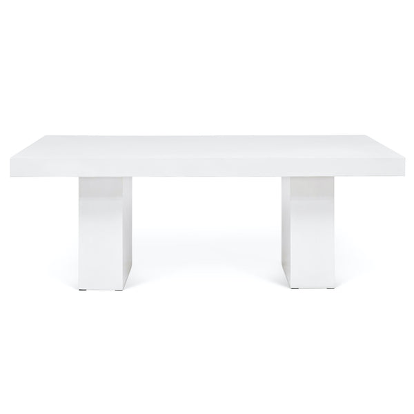 Urbia 7' Elcor Dining Table in Ivory