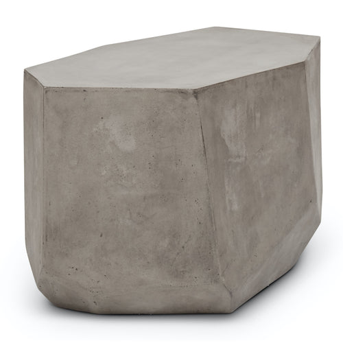 Urbia Kristal End Table, Dark Grey