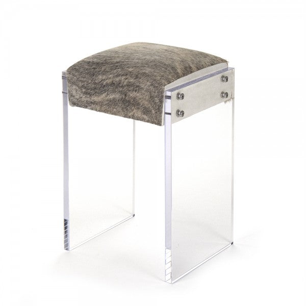 Zentique Counter Stool (Cowhide) Cowhide