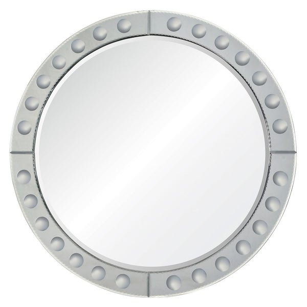 Round Chanel Mirror by Barclay Butera for Mirror Image Home