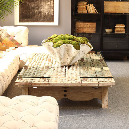 Nicaraguan Coffee Table by Bobo Intriguing Objects, Size Large