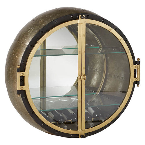 BoBo Intriguing Objects Porthole Wall Shelf